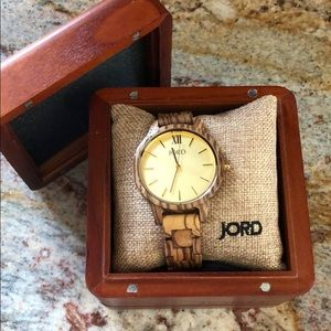 Accessories - JORD wood watch
